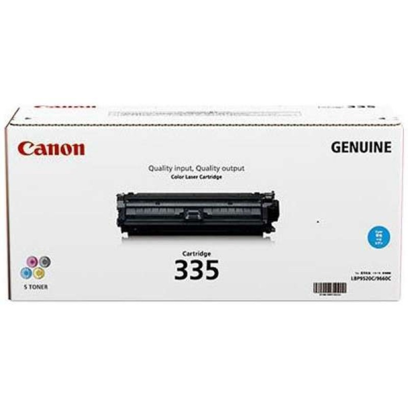 Canon CART335 Cyan Toner Cartridge *7.4K Yield* (Genuine)
