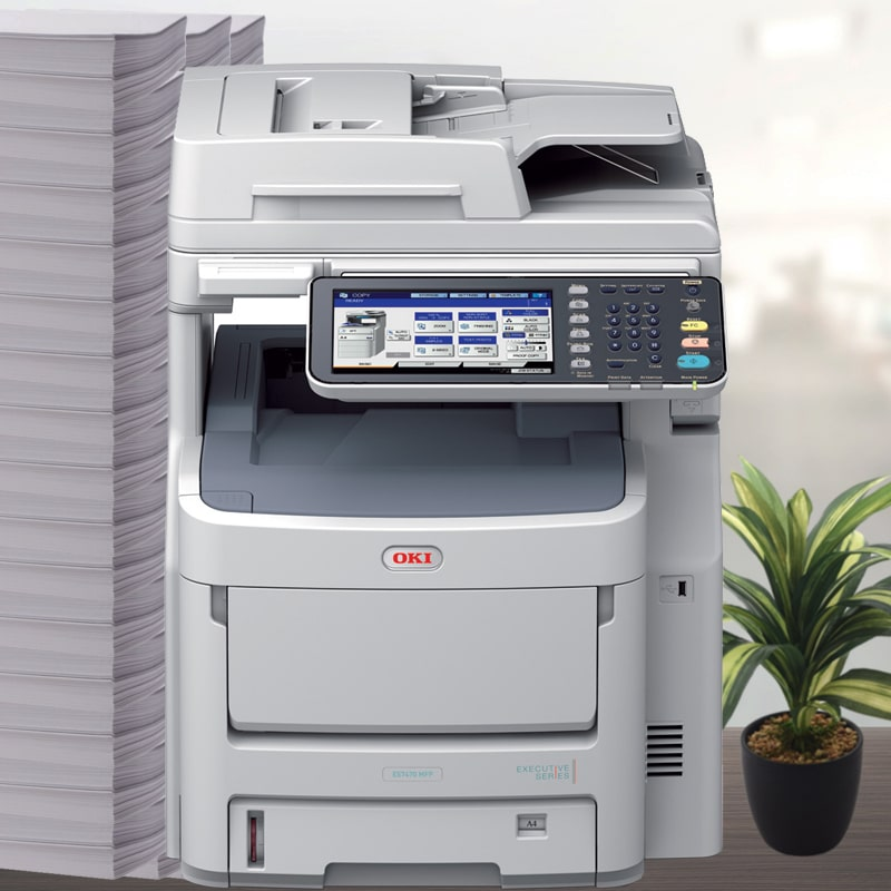 OKI Laser Colour Business MFC ES7470dn Network / Airprint Ready